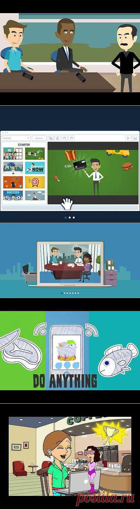 Make Business Video   Animated Video Production   GoAnimate.com Создание мультфильма
