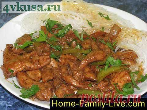 Курица по китайски | 4vkusa.ru