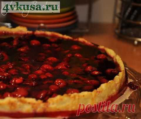 Вишневый пирог | 4vkusa.ru