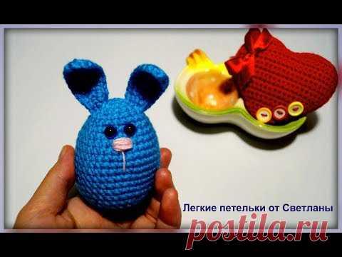 Пасхальный кролик Вязание крючком  rabbit crochet pattern for free