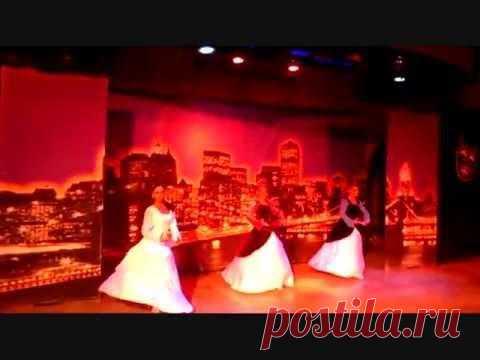 Красивый грузинский танец в отеле Club Insula 5*, Турция, Аланья