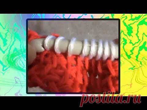 ▶ Tunisian Crochet Color Change - YouTube
