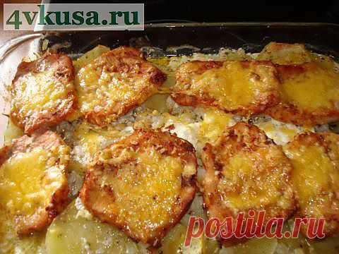 Свинина в аджике | 4vkusa.ru