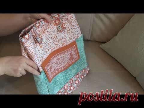 Кружевные фантазии - сумка для рукоделия