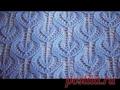 ажурный узор спицами простой узор спицами вязание спицами вязание