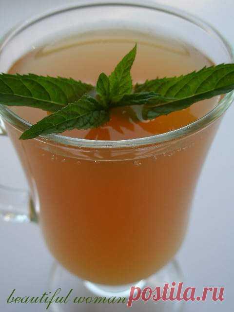 Яблочный квас – кулинарный рецепт