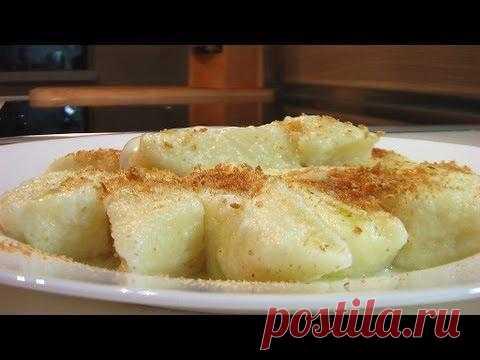 Галушки из творога. Рецепт приготовлен по  «Книге о вкусной и здоровой пище»  http://www.videocooking.ru