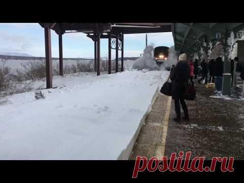Hız Trenin Karda Gidişi | Güncel Blog