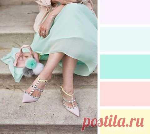 Сочетание цветов в одежде | Kupi-Komplekt | Яндекс Дзен