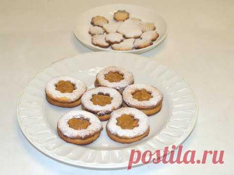 РАССЫПЧАТОЕ ПЕСОЧНОЕ печенье с Кремом