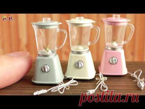 DIY Miniature Blender | Petit Palm