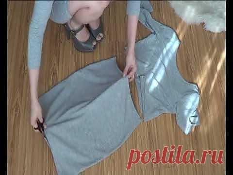 Переделка строгого платья (видео мастер-класс) / Платья Diy / Модный сайт о стильной переделке одежды и интерьера