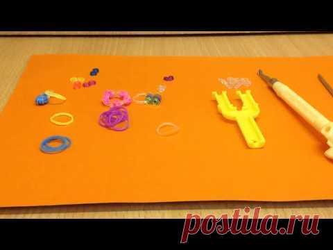 Кукольная Миниатюра из резинок (бусы, ожерелье, ключи)