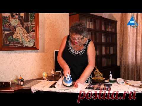 Как перенести рисунок на ткань утюгом