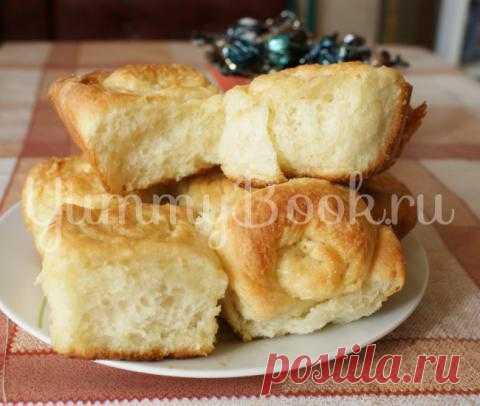 Сахарные булочки в медовой глазури | 4vkusa.ru