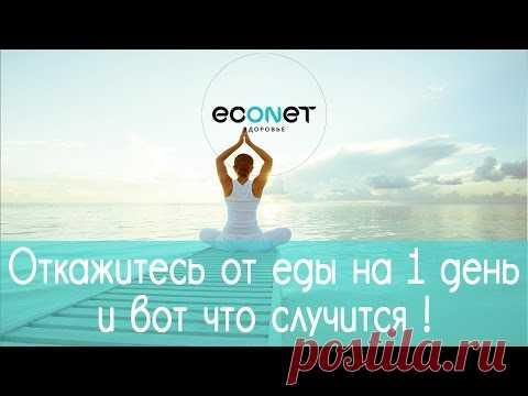 Откажитесь от ЕДЫ на 1 день и вот, что  СЛУЧИТСЯ!  | ECONET.RU - YouTube