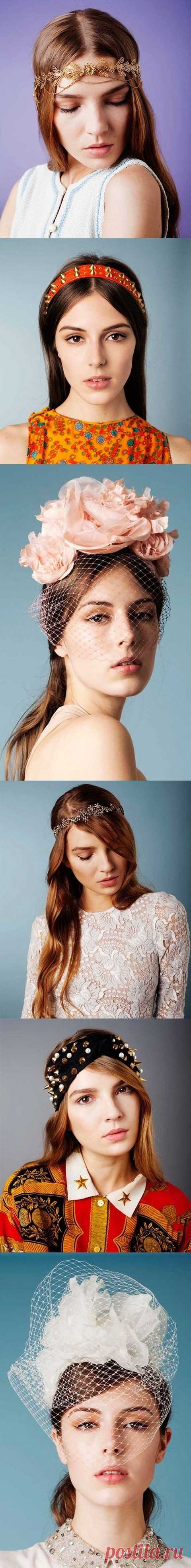 Стильные украшений для волос от Jennifer Behr
