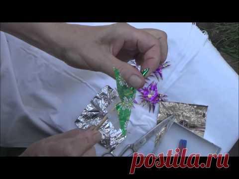 шарики из конфетных фантиков