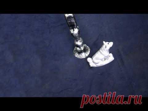 Как сделать кузнечную патину  долговечной,патина своими руками в домашних условиях - YouTube