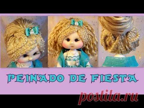 peinado de fiesta para muñecas,  manualilolis video-274