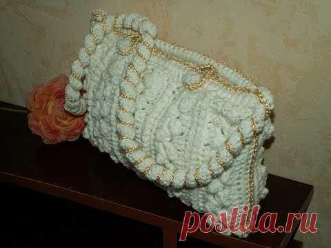 La Bolsa tejida por el gancho. El hallazgo para лета.knitting bags