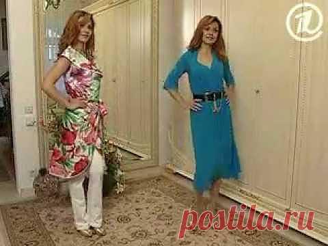 Платье-халат за полчаса!   Сами с усами