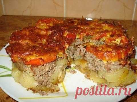 Картофель под шубой