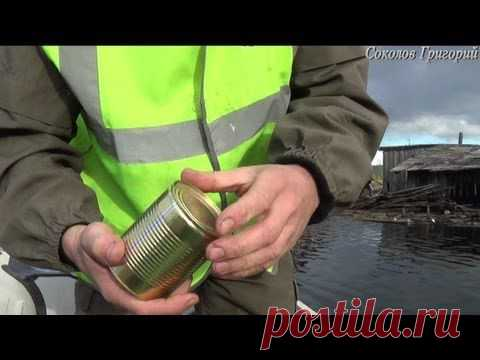 How to open canned food barehanded - YouTube