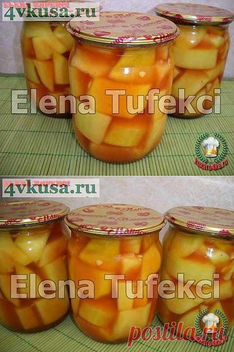 «Закусочные кабачки» консервированные | 4vkusa.ru