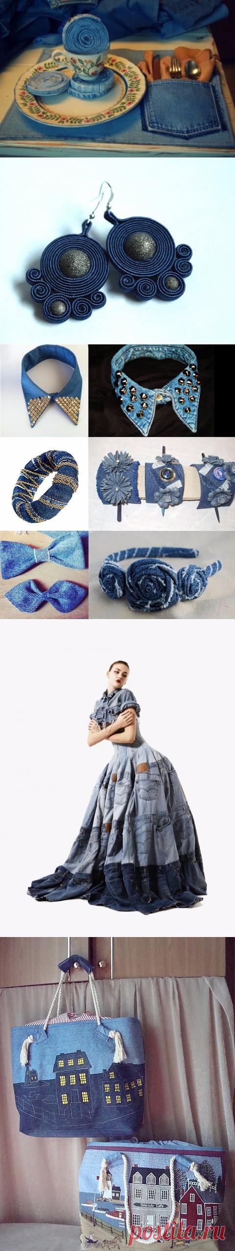 Креативные идеи по переделке старой джинсовой одежды