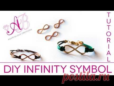 Tutorial Simbolo dell'infinito in wire - Wire Wrapping tutorial - Infinity tutorial bijoux