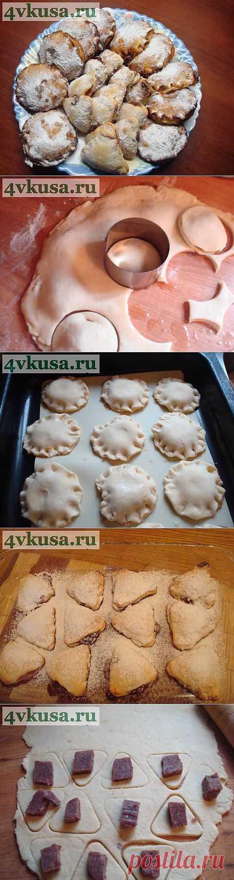 Творожное печенье с начинками | 4vkusa.ru