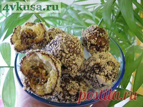 Печенье Каштаны   4vkusa.ru