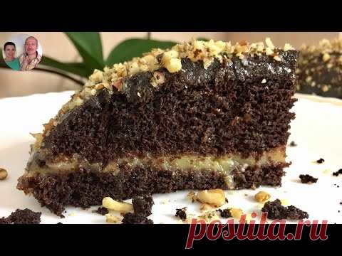 The most tasty Cake in the Post and not only! Cake without oil, milk and eggs!