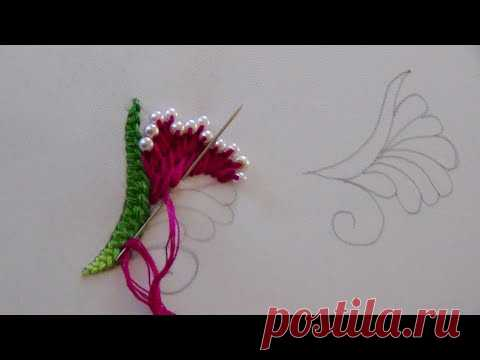 Hand Embroidery: Easy Embroidery all over the shirt/Buti Embroidery
