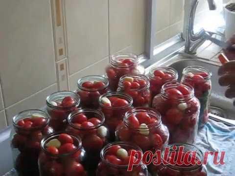 Консервируем помидоры в разных вариантах