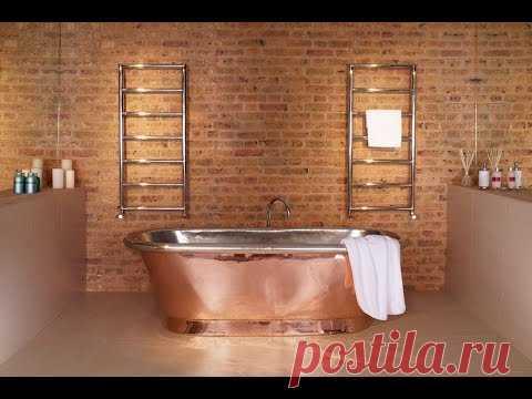 Ванная лофт в индустриальном стиле