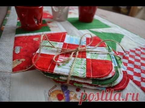 Лоскутики. Подготовка к Новому году. Лоскутное шитье для начинающих.