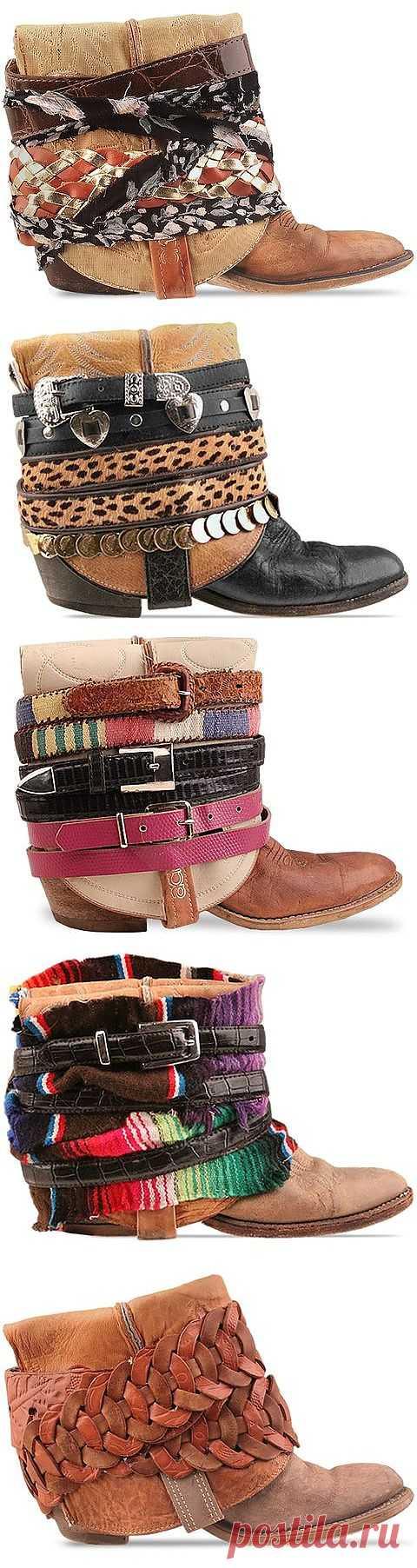 Переделка обуви (подборка) / Аксессуары (не украшения) / Модный сайт о стильной переделке одежды и интерьера