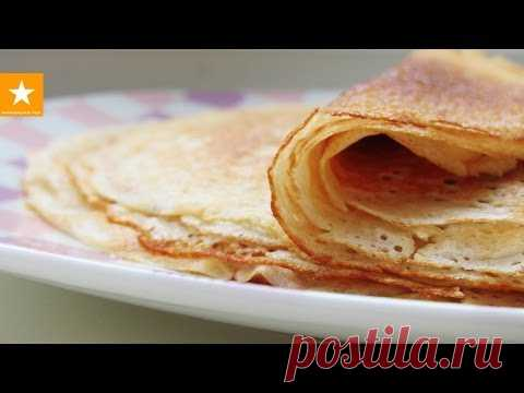 La receta muy acertada de los crepes de Marmeladnoy del Zorro los Crepes sin huevos