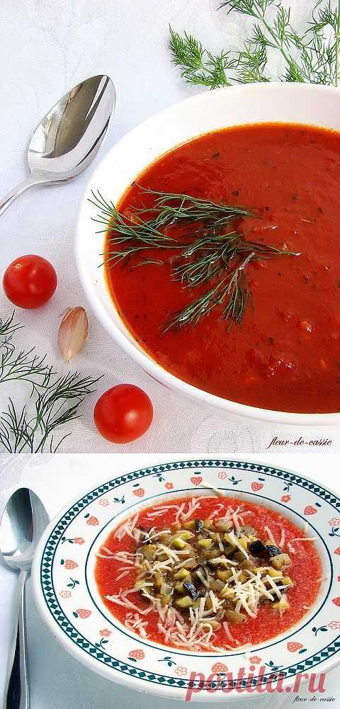 Два варианта томатного супа. Один больше подходит как зимний другой летний. Приятного аппетита!