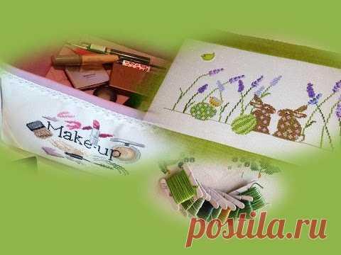 Оформлены кролики и розовая помада /новый проект: СП «Вышиваем по журналам и книгам» №4
