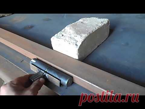 Как приварить петли на гаражные ворота с максимальной прочностью