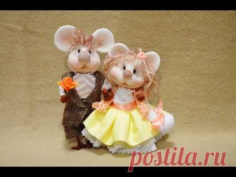 "Куклы из капрона ""Мышки"" ❀ Dolls of nylon ""Mouse"""