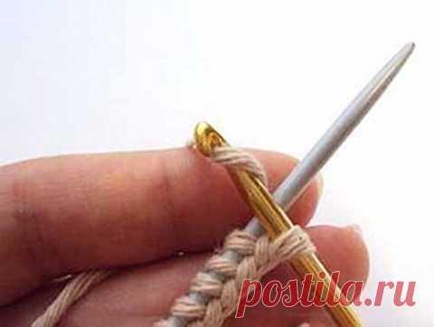 Набор петель косичкой (крючком)