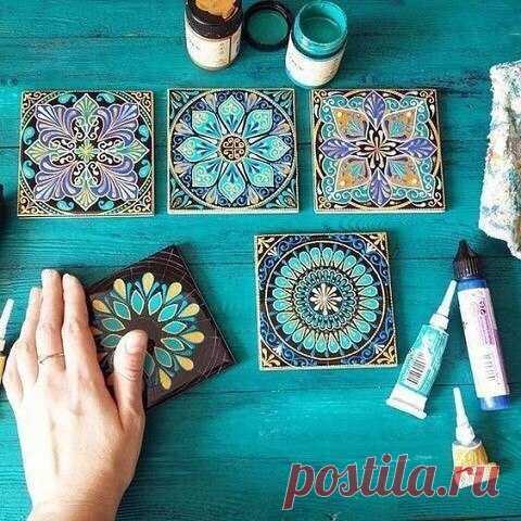 Anastasia Ropalo's tile