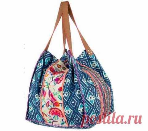 1fb98bfdd5b4 Сумка с квадратным дном (выкройка) | текстильные сумки | Постила