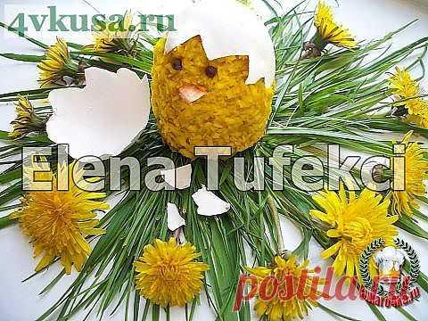 Пирожные Желтые цыплятки без выпечки