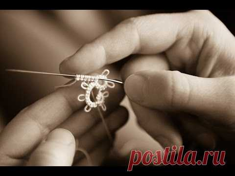 Needle Tatting - Chain (Ch.) in Needle Tatting by RustiKate