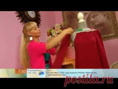 Сшить трикотажное платье (Sew a knitted dress)